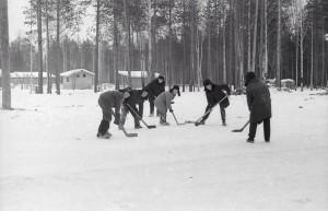 Хоккей во дворе