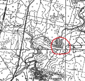 карта 30-х