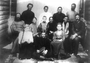 Семья Ладыжниковых
