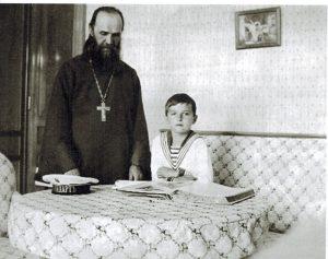 о. Васильев с наследником